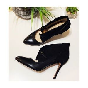 Nine West black heels.